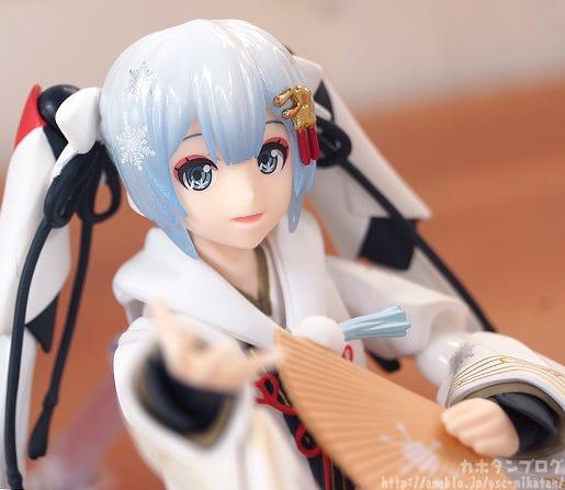 Giới thiệu figma Snow Miku: Crane Priestess Ver.