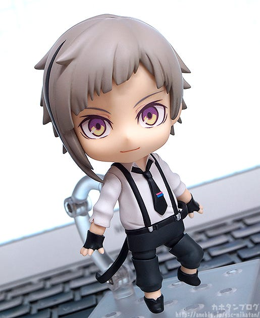 From The Anime Series With A Movie Coming Soon Bungo Stray Dogs Comes Nendoroid Of One Armed Detective Company Members Atsushi Nakajima