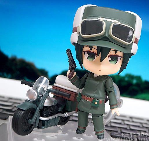 Giới thiệu Nendoroid Kino & Hermes