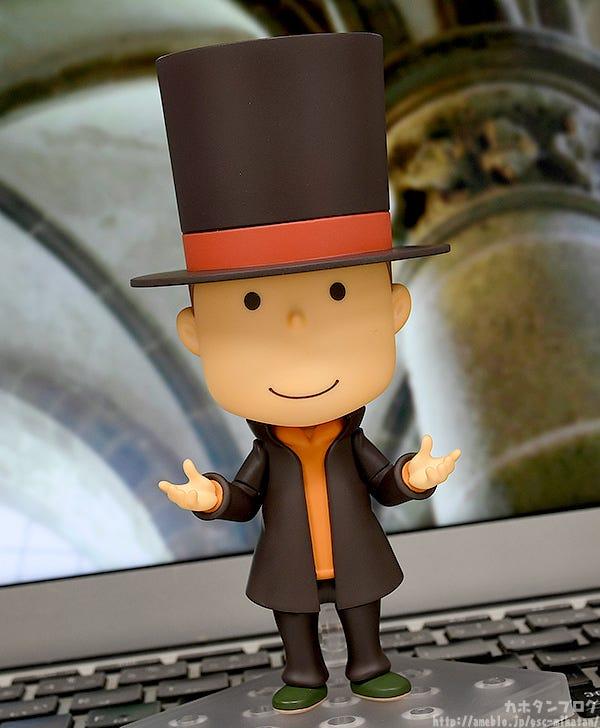 Giới thiệu Nendoroid Professor Layton