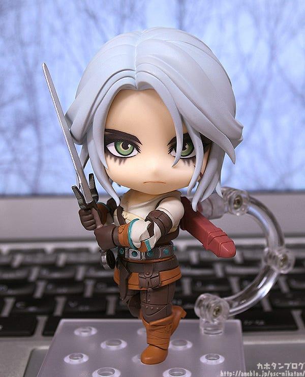 Good Smile Company Nendoroid The Witcher 3 Wild Hunt Ciri