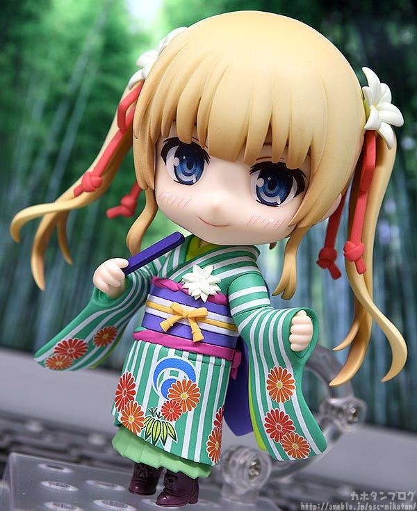 Giới thiệu Nendoroid Eriri Spencer Sawamura: Kimono Ver.
