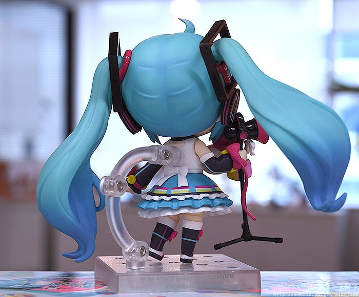 Giới thiệu Nendoroid Hatsune Miku: Magical Mirai 2018 Ver.
