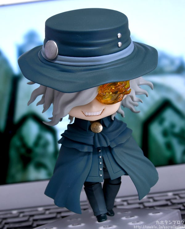 Kahotan S Blog Good Smile Company Figure Reviews Nendoroid Avenger King Of The Cavern Edmond Dantes Fate Grand Order