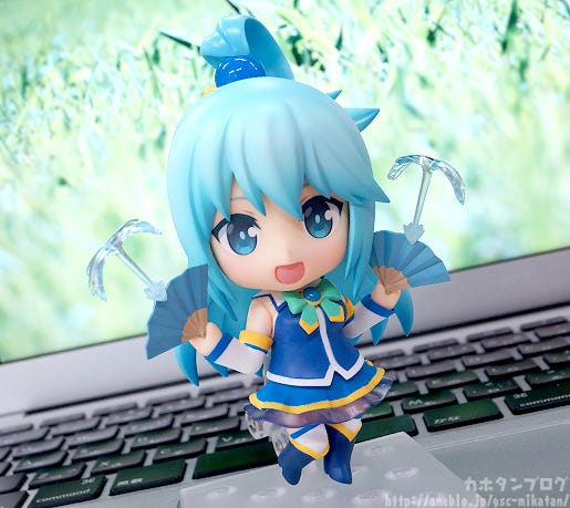 """jurnalotaku on Twitter: """"Nendoroid Aqua Diumumkan Pada Gelaran ..."""