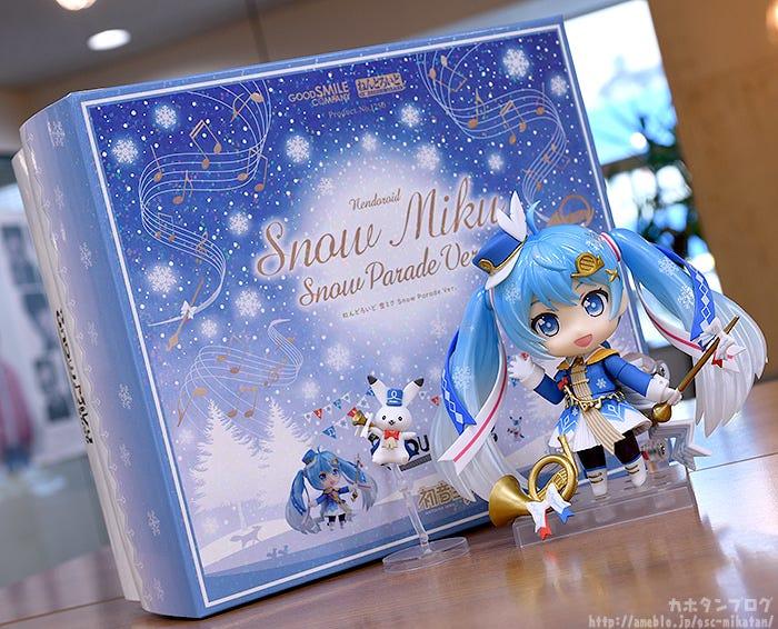 Giới thiệu Nendoroid Snow Miku: Snow Parade Ver.